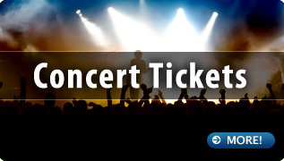 Concert tickets for your holidays