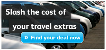 Save costs on travel extras